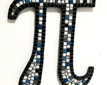Math Lover Gift, Pi Day, Pi Art, Math Graduate Gift, Math Professor Gift, Mosaic Wall Letter, 3.14, Math Nerd, Christmas Gift, Math Geek