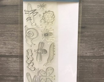 Technique Tuesday Insect Clear Stamps