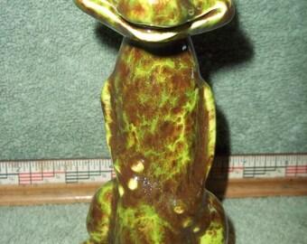 Cute Standing Gecko Lizard Made of Ceramic Glazed Geckos Lizards