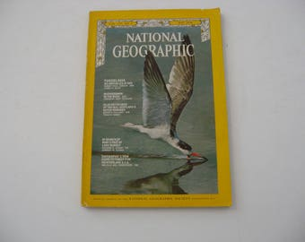 Vintage 1970 National Geographic Vol 137 No. 5