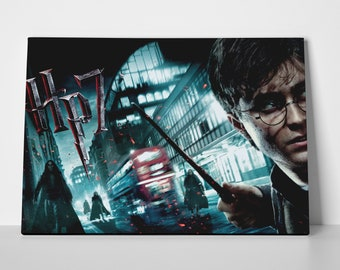 Harry Potter 7 Poster or Canvas