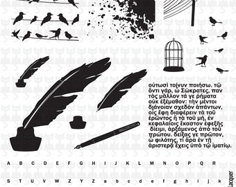 Nail Stamping Plate VL 018 Vivid Lacquer