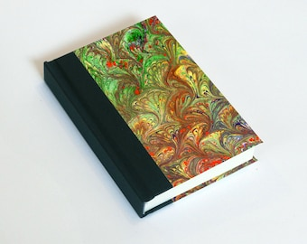"""Sketchbook 4x6"""" with motifs of marbled papers - 19"""