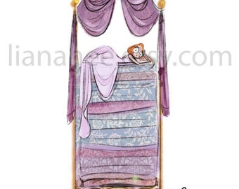 Princess and the Pea fine art print
