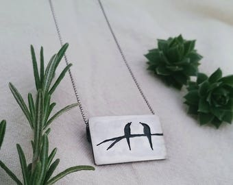 2 Little Birds Necklace