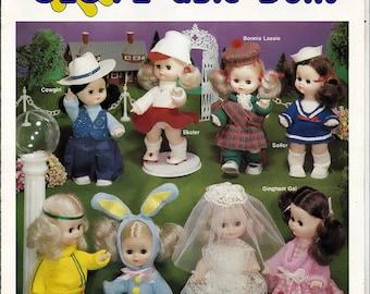 Kathi Glove-able Dolls Pattern booklet 019-94