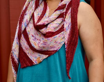 Instant Download - Tircha Shawl/Scarf - PATTERN ONLY