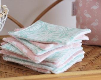 Washcloths Collection Tropical Paradise, Flamingo