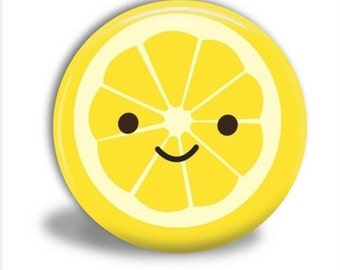 CUTE LEMON Pocket Mirror