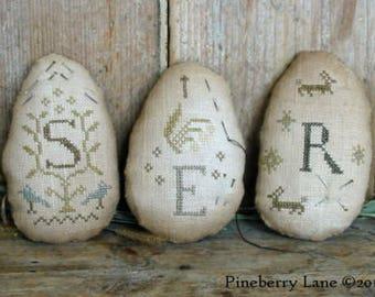 Quaker Egg Pinkeeps by Pineberry Lane - SALE!!