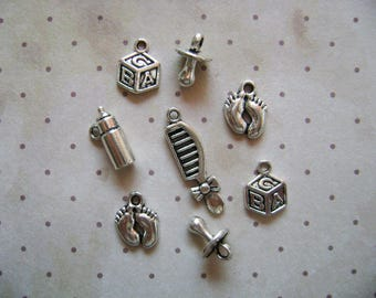 Mixed Birthstone Charms