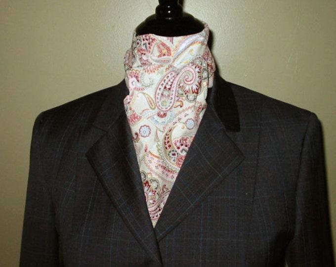 Maroon and Gray Stock Tie