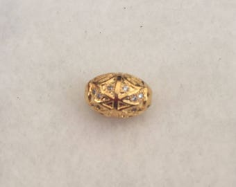 Gold plated cubic zirconia connector
