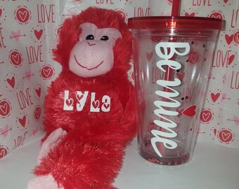 Personalized valentine's gift set
