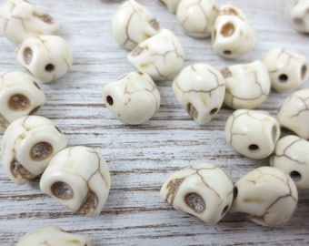 SALE! Skull Beads ~ 25 count