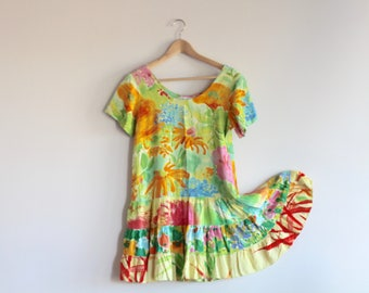 MARRA - bright floral dress