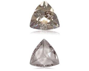 0.40-0.49 Cts of 5.5x5.5 mm A Trillion Cut Morganite ( 1 pc ) Loose Gemstone - 396773