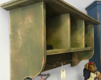 Deep Decorative Cubby Shelf