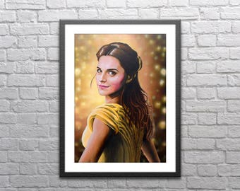 Belle - Beauty and the Beast - Print