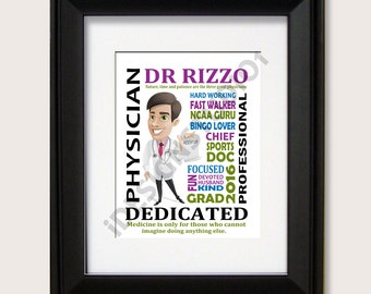 Personalized Doctor Gift, physician graduation gift, medical doctor gift