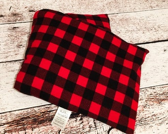 Buffalo Plaid Wheat Berry Microwave Hot Cold Pack