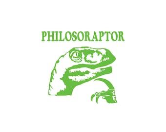 Philosoraptor Sticker