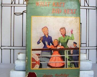 What Katy Did Next by Susan Coolidge (Vintage, Children)