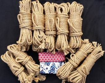 Kinbakushi shibari bondage performance rope kit
