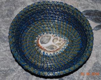 "Pine Needle Basket ""Seaview"""