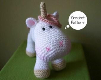 Crochet pattern Amigurumi Unicorn - Luna