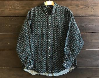 Vintage 90s Button-Up Shirt