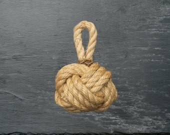 "Mini ""Turks Head"" Rope Ball Decoration"