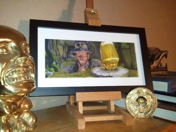 Indiana Jones - Idol Poster Print