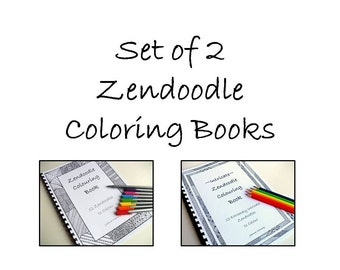 Coloring Books Zentanlge Inspired. Instant Download PDF files.