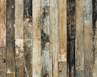 Weathered Wood Photo Backdrop