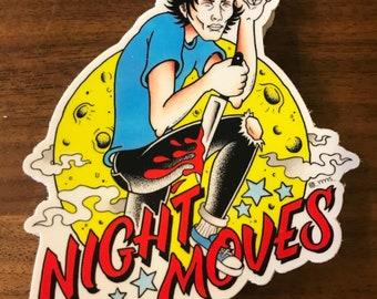 Night Moves sticker