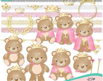 Little Princess Clipart instant download PNG file - 300 dpi