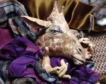 Giraffe Anthro Art Doll Parts plus Costuming Trove