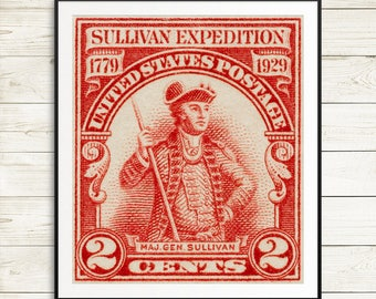 major general sullivan expedition, US war of independence, general sullivan, war of independence, US history posters, independence history