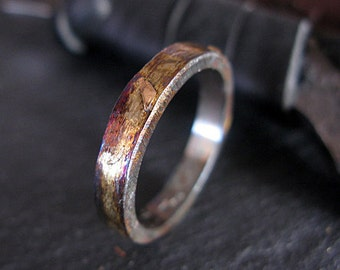 Rustic Mens Wedding Band Unique Mens Wedding Band Size 9 1/4 Viking Jewelry Viking Wedding Ring Mens Wedding Bands Mens Wedding Rings Rustic