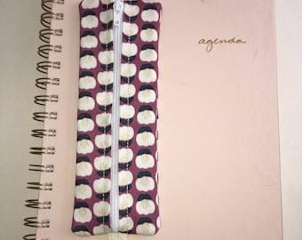 Planner/notebook pen pouch