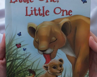 Little One, Little One personalized book for children.  A book about counting and animals with your child's name and information.