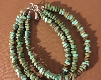 Triple Turquoise Bracelet