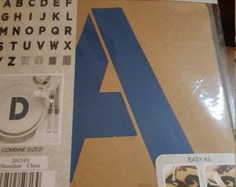 M19 - FolkArt Alphabet & Monogram Paper Stencils - 6 Inch -30 Piece