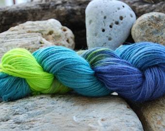 handdyed yarn -  100g/3,5 oz. -  Colour 30