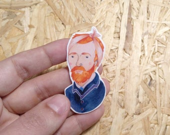 Vincent Van Gogh brooch