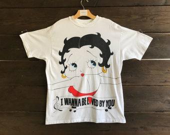 Vintage 90s Betty Boop Tee