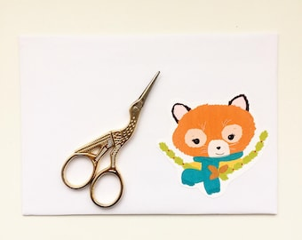 Foxy sticker DIY