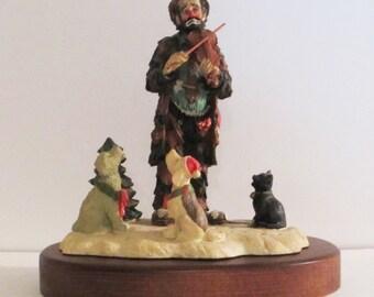 Emmett Kelly Jr. A CHRISTMAS CAROL Stanton Arts 1991 Limited Edition Item Number 85100