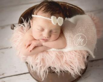 Baby Headband with Bow, Crochet Headband with Bow, Newborn Headband, Newborn Bows, Headband Bows, Baby Headband, Knit Headband, Baby Girls